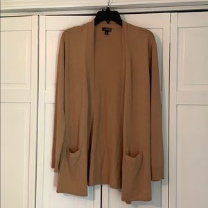 Camel Colored Long Cardigan